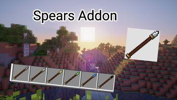 Spears Addon v1.1 Minecraft Mod