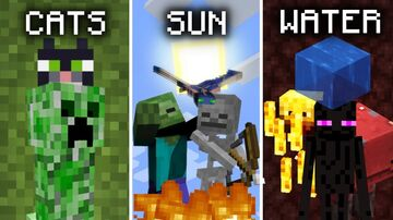 Evil Mobs Minecraft Mod