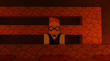 Undertale Characters 1.16.4 Grillby Update Minecraft Mod