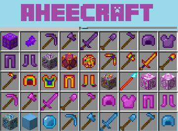 AheeCraft Minecraft Mod