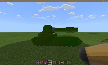Syronel's Tank Addon Minecraft Mod