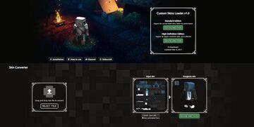 Custom Skins Loader Mod for Minecraft Dungeons Minecraft Mod