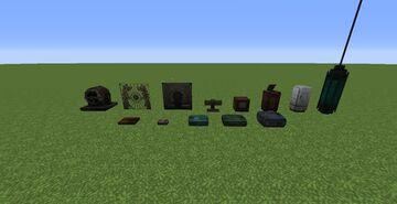 BIOSHOCKCRAFT 3D (guns and decorations from rapture) Minecraft Mod