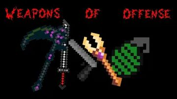 Weapons of Offense Minecraft Mod Minecraft Mod