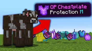 COWS DROP OP LOOT MOD Minecraft Mod