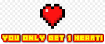 Minecraft, but you only have one heart! Minecraft Mod