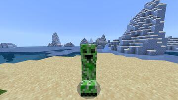 Friendly Creepers Minecraft Mod