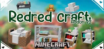 RedRed Craft mod. (1.16) Bedrock edition. Minecraft Mod