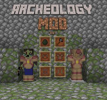 Archeology Mod Version 0.6.5 Minecraft Mod