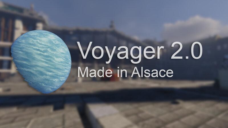 Voyager shader 2.0.2