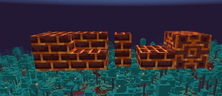 Magma Brick Variations