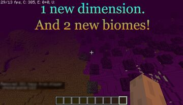 Another end dimension! Minecraft Mod