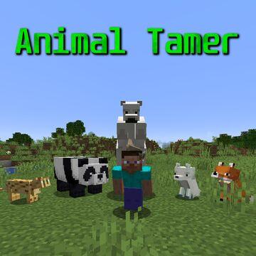 Animal Tamer Minecraft Mod