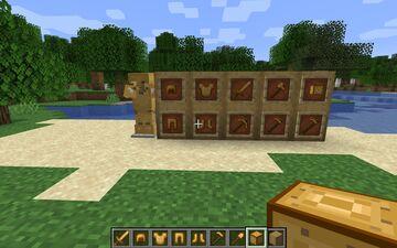 potato armour,tools and block Minecraft Mod