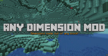 Any Dimension Mod 1.16 (257 Dimensions!) Minecraft Mod