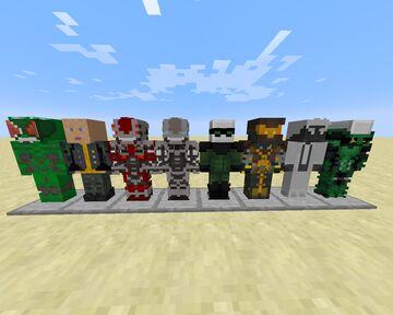 Sinister Six Ps4 2.0 (Fisk's Superheroes) addon Minecraft Mod