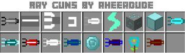Ray Guns! Minecraft Mod