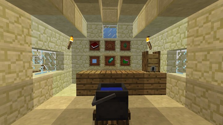 This mod adds many foods, drinks, item and blocks!