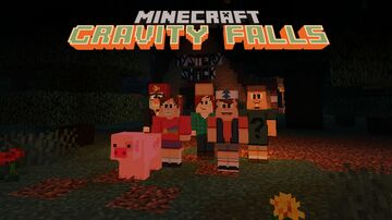 Gravity Falls Characters Mod Minecraft Mod