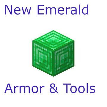 Emerald Armor & Tools Minecraft Mod