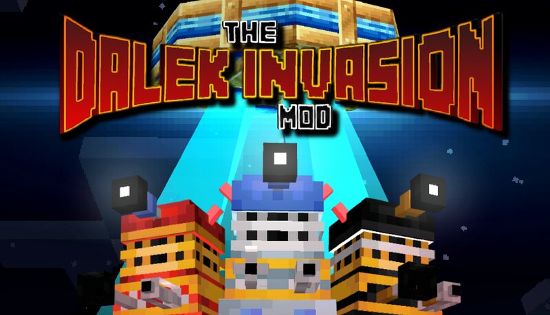 The Daleks have invaded Minecraft for conquest!