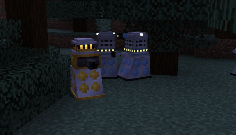 Fight unique Daleks that blow up, break doors, shoot lightning, and more!