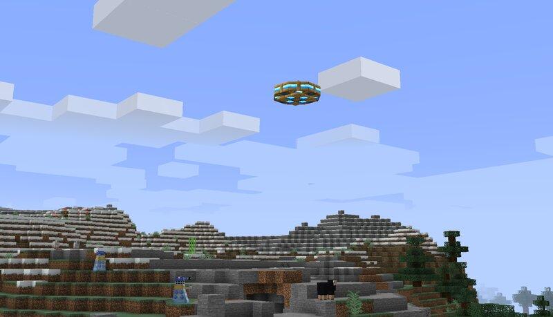 Beware Dalek Saucers that patrol the skies!