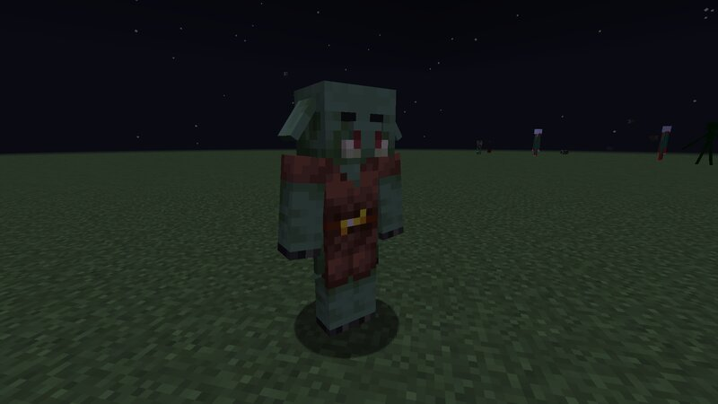 Zombie Piglin Spawn In The Nether