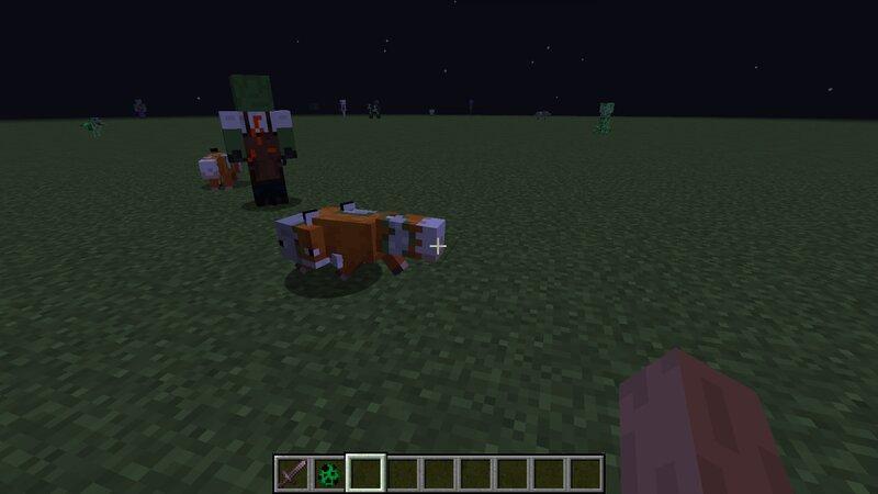 Zombie Foxes