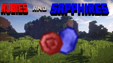 Rubies and Sapphires! Minecraft Mod