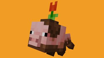 Baby Muddy Pig Pet Minecraft Mod