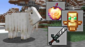 Minecraft, But 1.17 mobs trades op item Minecraft Mod