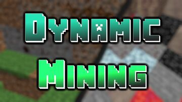 Dynamic Mining (for Minecraft 1.16.5 forge  - for PC) Minecraft Mod