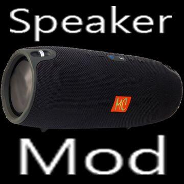 Speaker mod Minecraft Mod