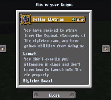 Better Elytrian Minecraft Mod