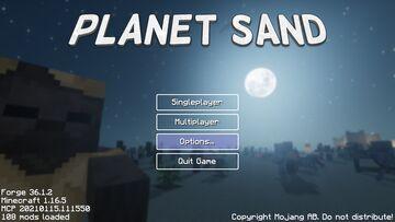 Planet Sand Mod Minecraft Mod