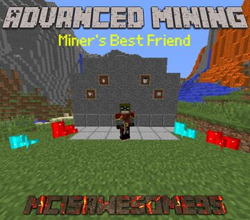 Advanced Mining 1.12.2 Minecraft Mod