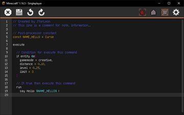 Better Command Block IDE - Fabric Minecraft Mod