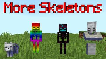 More Skeletons Minecraft Mod