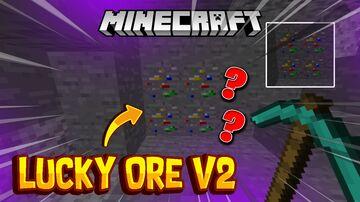 Lucky Ore Mod V2 Minecraft Mod