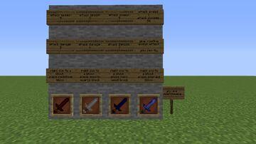 Guns and Swords Minecraft Mod