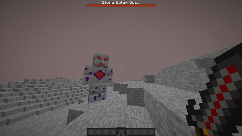 Stone Golem Boss Dimension