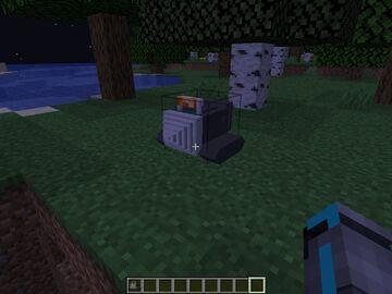 Drill Minecraft Mod