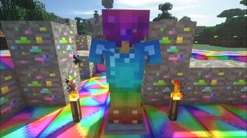 rainbow sword and ore mod Minecraft Mod