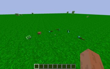 Items Physic Minecraft Mod
