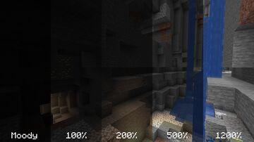 Мод на повышение яркости [1.17 fa bric] Minecraft Mod