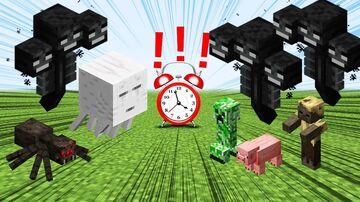 (PLUGIN) MINECRAFT BUT RANDOM MOB SPAWNS EVERY ... SECONDS Minecraft Mod