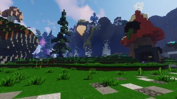 Selfbuild WarZone for my Server l Fantasy Theme Minecraft Map & Project
