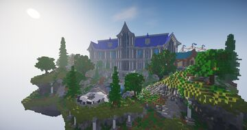 Huge Server Lobby Minecraft Map & Project