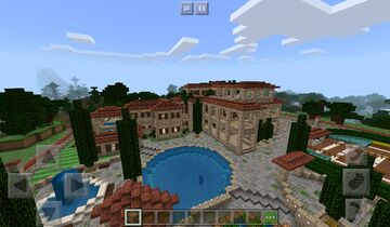 Красивий дом | Beautiful house Minecraft PE Minecraft Map & Project